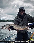 "36"" Northern Pike caught on Lake Nipissing"