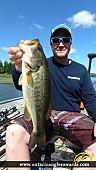 """18.01"""" Largemouth Bass caught on Wasi Lake"""