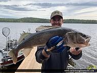 """30"""" Walleye caught on Dog Lake"""