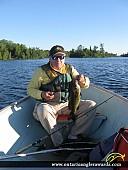 """17.25"""" Smallmouth Bass caught on Katchewanooka Lake"""