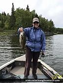 "17.25"" Smallmouth Bass caught on Winnipeg River"