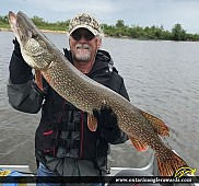 "32"" Northern Pike caught on Lake of the Woods"