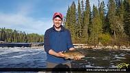 "17.25"" Smallmouth Bass caught on Mattagami River"
