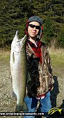 """31.5"""" Rainbow Trout caught on Manitou River"""