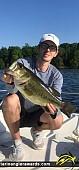 "22"" Largemouth Bass caught on Big Rideau"