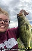 "20"" Largemouth Bass caught on Pond"