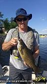 "17.25"" Smallmouth Bass caught on Ramsey Lake"