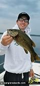 "19"" Smallmouth Bass caught on Big Rideau"