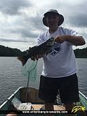"""18"""" Largemouth Bass caught on Graphite Lake"""