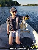 "14.5"" Black Crappie caught on Conestogo Lake"
