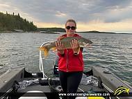 """26"""" Lake Trout caught on Whitefish Bay"""