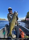 """39.00"""" Chinook Salmon caught on Nipigon River"""