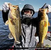 """19"""" Largemouth Bass caught on Wasi Lake"""