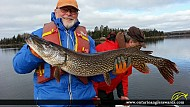 """42"""" Northern Pike caught on Lake of the Woods"""