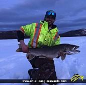 "40"" Lake Trout caught on Lake Santoy"