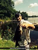 "21"" Smallmouth Bass caught on Cordova Lake"