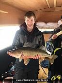 """26"""" Walleye caught on Lake Nosbonsing"""