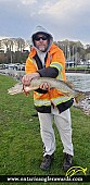 """33.75"""" Northern Pike caught on Lake Erie"""
