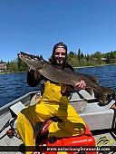 "37"" Northern Pike caught on Goodfish Lake"
