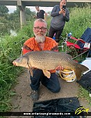 "32"" Carp caught on Komoka River on the Thames"