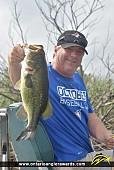 """19"""" Largemouth Bass caught on Lake Erie"""