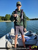 "12"" Black Crappie caught on Conestogo Lake"