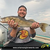 "25.5"" Walleye caught on Winnipeg River System"