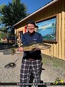 "27.5"" Walleye caught on Klotz Lake"