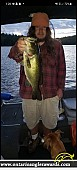 "23"" Largemouth Bass caught on Iroquois Bay"