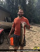 """32"""" Northern Pike caught on Mere Lake"""