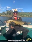 "28"" Walleye caught on Winnipeg River System"