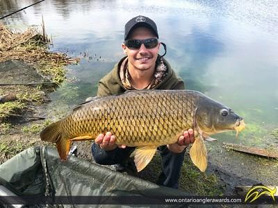 "31"" Carp caught on Nation River"