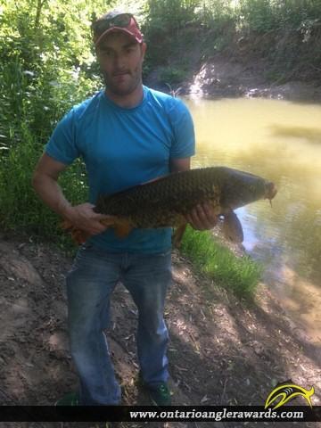 "33"" Carp caught on Big Creek"