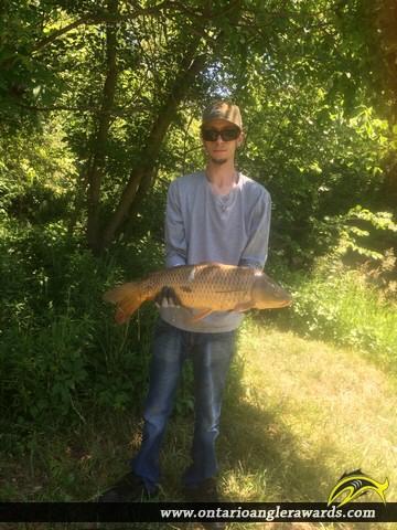 "32"" Carp caught on Big Creek"