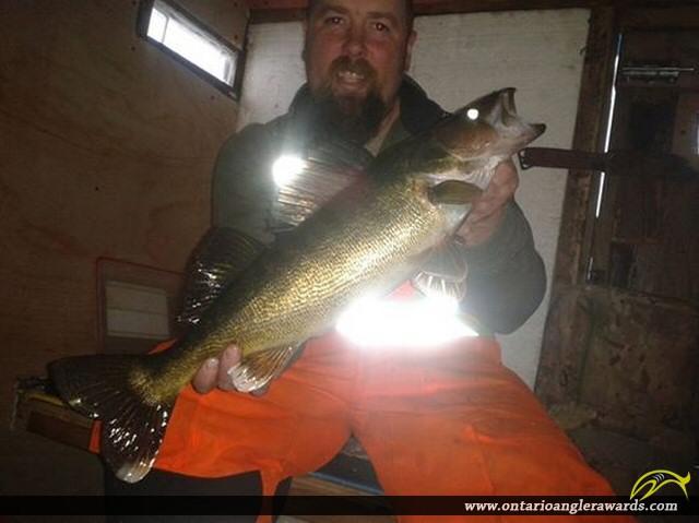 """25"""" Walleye caught on Lake Rosseau"""