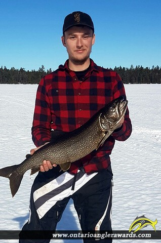 "31"" Lake Trout caught on Lady Syndey"