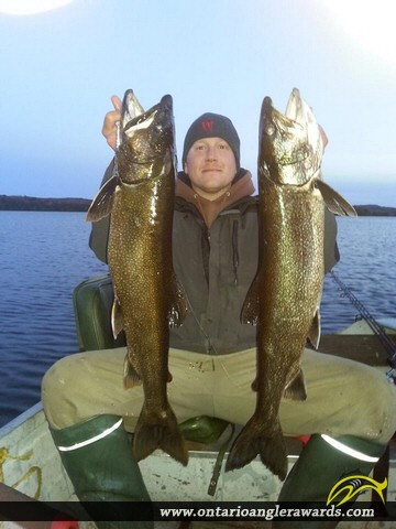 "32.00"" Lake Trout caught on North Tea Lake"