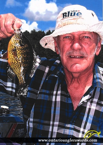 "9.5"" Pumpkinseed caught on Galeairy Lake"