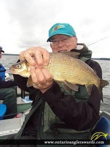 """22"""" Whitefish caught on Wawang Lake"""