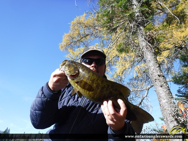 "20"" Smallmouth Bass caught on Mink Lake"