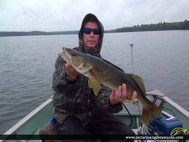"26"" Walleye caught on Wawang Lake"