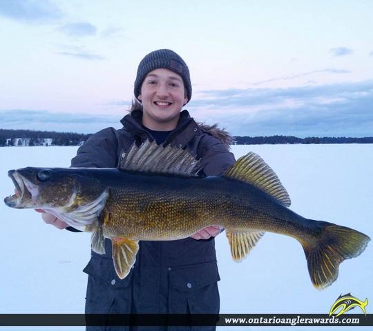 """28"""" Largemouth Bass caught on Jack Lake"""