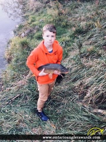 "25"" Carp caught on Grand River"